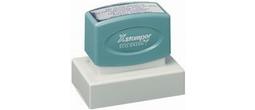 Custom Xstamper<br>Pre-Inked