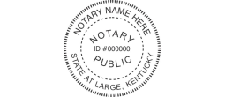 KYN532 - State of Kentucky N53 Notary Style 2