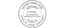 KYN533 - State of Kentucky N53 Notary Style 3