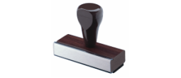 rubber stamp, large rubber stamp